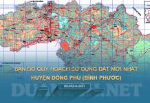 Tải về bản đồ quy hoạch sử dụng đất huyện Đồng Phú (Bình Phước)