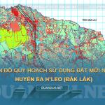 Tải về bản đồ quy hoạch sử dụng đất huyện Ea H'leo (Đắk Lắk)