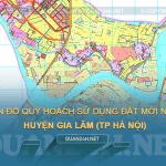 Tải về bản đồ quy hoạch sử dụng đất huyện Gia Lâm (TP Hà Nội)