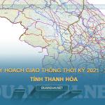 Thông tin quy hoạch giao thông tỉnh Thanh Hóa