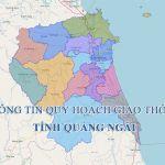Thông tin quy hoạch giao thông tỉnh Quảng Ngãi đến năm 2030
