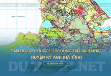 Tải về bản đồ quy hoạch sử dụng đất huyện Kỳ Anh (Hà Tĩnh)