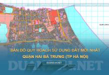 Tải về bản đồ quy hoạch sử dụng đất quận Hai Bà Trưng (TP Hà Nội)