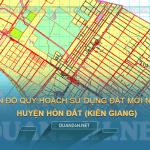 Tải về bản đồ quy hoạch sử dụng đất huyện Hòn Đất (Kiên Giang)