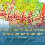 Tải về bản đồ quy hoạch sử dụng đất huyện Khánh Sơn (Khánh Hòa)