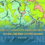 Tải về bản đồ quy hoạch sử dụng đất huyện Lâm Bình (Tuyên Quang)