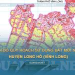 Tải về bản đồ quy hoạch sử dụng đất huyện Long Hồ (Vĩnh Long)
