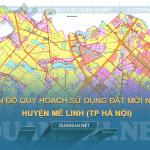 Tải về bản đồ quy hoạch huyện Mê Linh (TP Hà Nội)