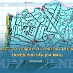 Tải về bản đồ quy hoạch sử dụng đất huyện Phú Tân (Cà Mau)