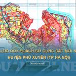 Tải về bản đồ quy hoạch sử dụng đất huyện Phú Xuyên (Hà Nội)