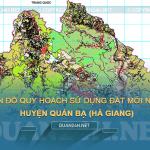 Tải về bản đồ quy hoạch sử dụng đất huyện Quản Bạ (Hà Giang)