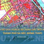Tải về bản đồ quy hoạch sử dụng đất TP Sa Đéc (Đồng Tháp)