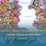Tải về bản đồ quy hoạch sử dụng đất huyện Thạch Hà (Hà Tĩnh)