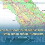 Tải về bản đồ quy hoạch sử dụng đất huyện Thạch Thành (Thanh Hóa)
