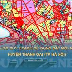 Tải về bản đồ quy hoạch sử dụng đất huyện Thanh Oai (Hà Nội)