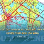 Tải về bản đồ quy hoạch huyện Thới Bình (Cà Mau)