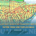 Tải về bản đồ quy hoạch huyện Trần Văn Thời (Cà Mau)