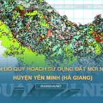 Tải về bản đồ quy hoạch sử dụng đất huyện Yên Minh (Hà Giang)